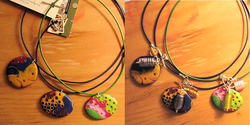 Simple necklaces transformed