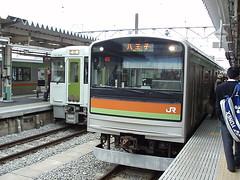 JR八高線205系3000番台車両(JR Hachiko Line 205 Series 3000)
