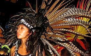 Aztec Dancer Dia de Los Muertos 1