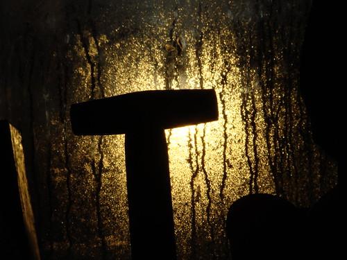 spade handle silhouette