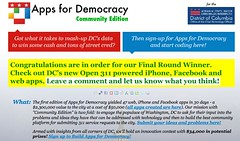 Apps for Democracy - An Innovation Contest by iStrategyLabs for the DC Government and Beyond
