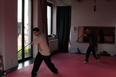 """renaat and puja training 苗刀 miao dao • <a style=""""font-size:0.8em;"""" href=""""http://www.flickr.com/photos/49126569@N07/4521421181/"""" target=""""_blank"""">View on Flickr</a>"""