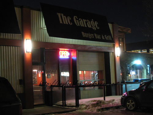 The Garage Burger Bar & Grill