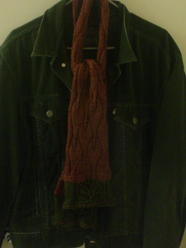 Autumn Leaves Scarf w/Jacket