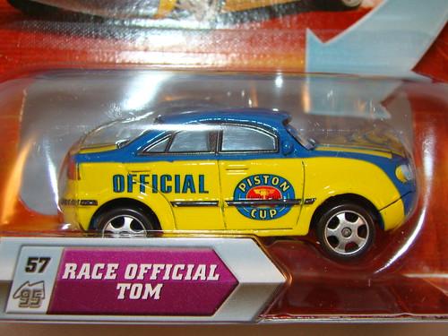 Disney CARS Lenticular Race Official Tom (2)