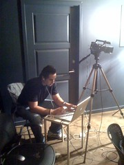 It's @techzulu working the live stream