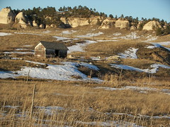 Manderson Buttes, NW of Wounded Knee