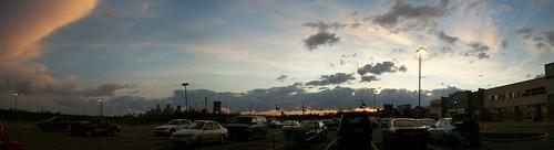 Minneapolis sky panorama