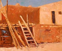 Taos Pueblo - 10x12