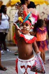 Índio com Conféti [Little Indian With Confetti]