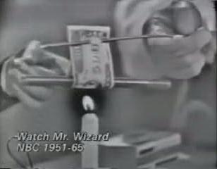 Mr. Wizard - Dark halo video artifact