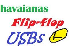 Havaianas Flip-Flop USBs