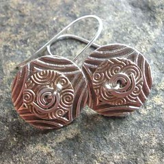 Spinner Disk Earrings #4