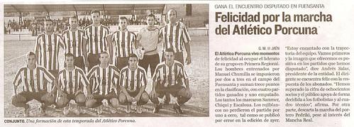 Recorte de prensa de Diario Jaén, 20-10-2009, página 47