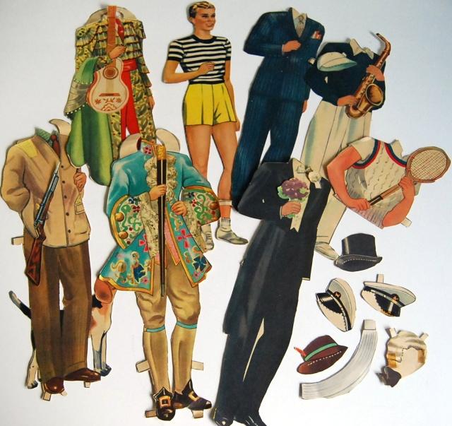 1940s paper dolls 2