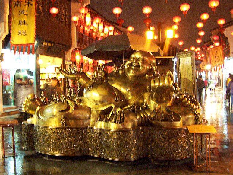 Bouddha 河坊街