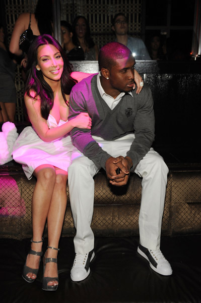Kim Kardashian Reggie Bush Grinding Reggie Makes Kim Karda...