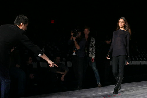 Phillip Lim Instructs His Models