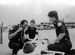 Emergency medical technicians, circa 1980