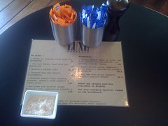 menu at luxe bakery, newtown