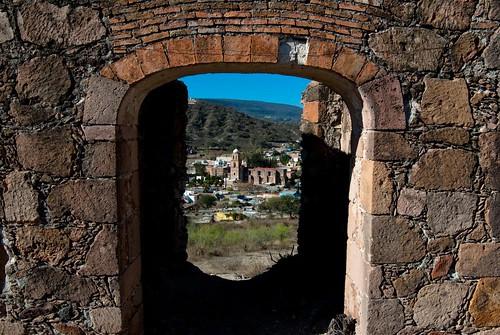 Vista entrada panteon basilica