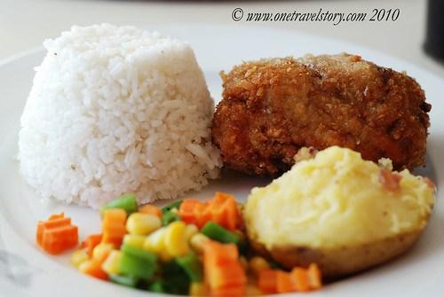 Bigg's Diner Pili: Pork Cordon Bleu