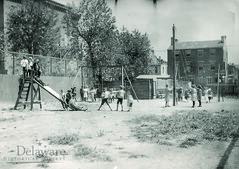 Children in Playground, 1908