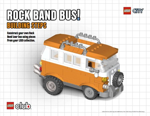 lego friends news van instructions