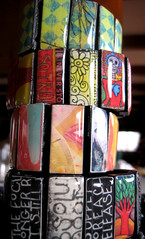 tower of resin