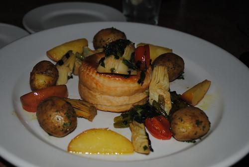 Vegetarian Dinner at Jimmy's