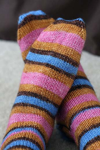 "Socks - Yarntini ""Home"" colorway"