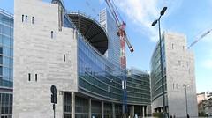 Milano - Nuova sede ragione, Panorama lato sud