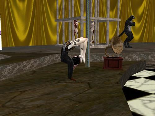 Contortionist at Phantasmagoria Circus