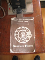 Southern Pacific telephone directory
