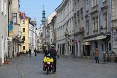 Exploring Bratislava with bikes