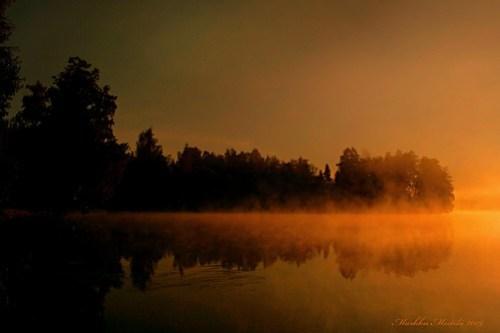 Lake Alanen in September