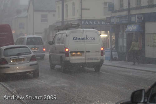 Snow in Shelton