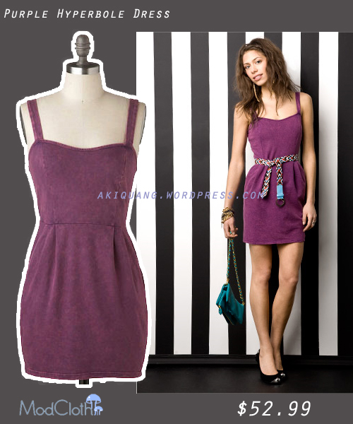 Purple Hyperbole Dress