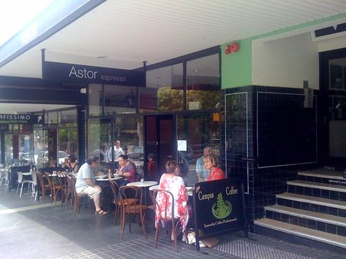 Astor espresso, Glebe