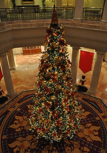 Christmas Tree at Westfiels Marriott