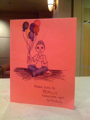 Birthday Card Front