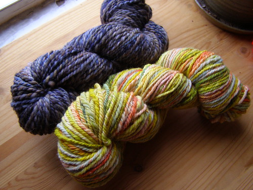 first yarns off of the matchless!