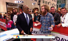 Thomas Shahan (and a Salticid) on NBC's The To...