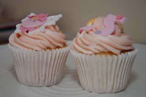 Cirencester Cupcakes - Fairy & 5th Birthday Cupcakes