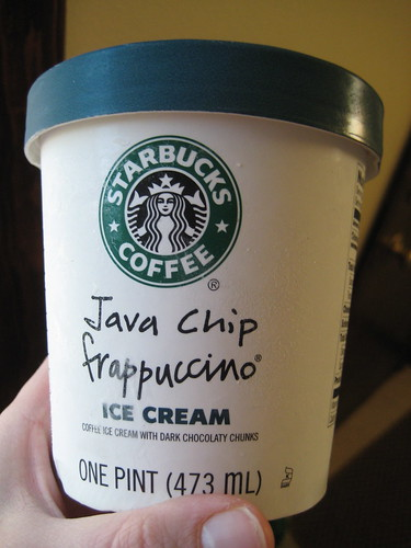 Starbucks Java Chip frappucino