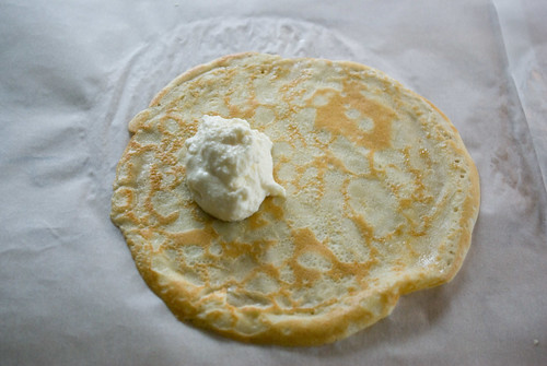 making blintzes