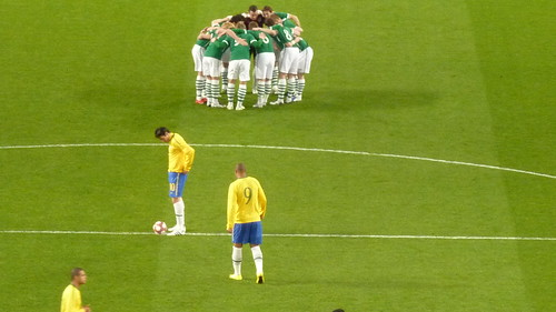 Ireland -v Brazil in London