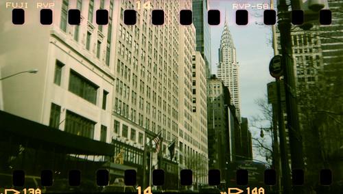 Chrysler Building and sprocket holes