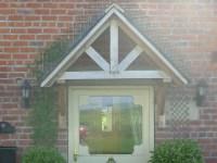 Plans For A Door Canopy : General Woodworking - UKworkshop ...