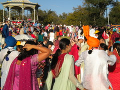 Indians in Elder Park